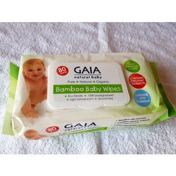 Bamboo Wet Wipes x 1 pack