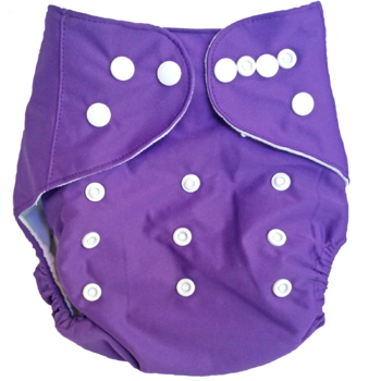 Cloth Nappy PURPLE