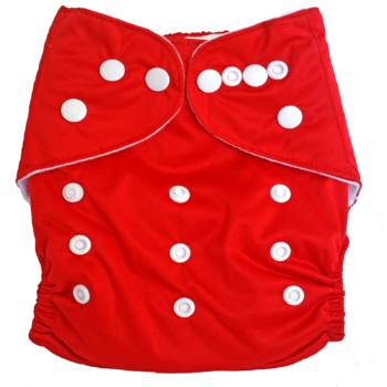 Baby Cloth Nappy Red